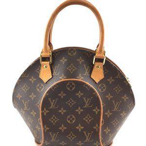 Ellipse Pm Seashell Top Handle Zip Brown bag